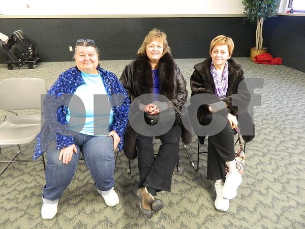 left to right: Mary Ellen Koestner, Mary Clausen, Kathryn Koop