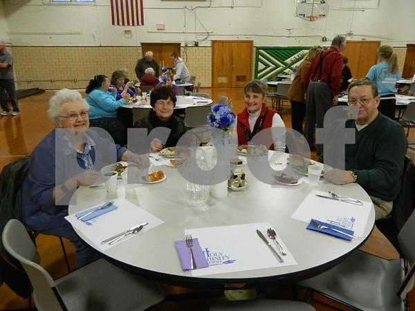 left to right: Mary Gena Lannon, Dorothy Thoma, Sandy and Kurt Wilke
