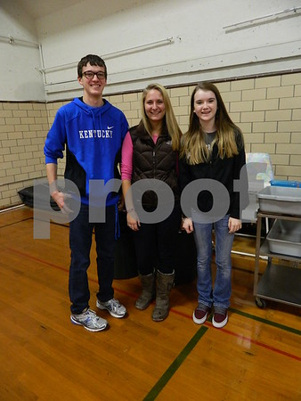 left to right: Nick Simpson, Joeli Koenig, Madi Tarbox