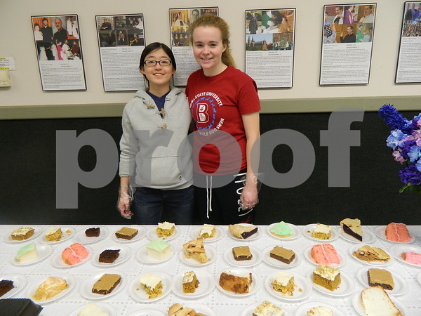 left to right: MinHee Kamg, and Haley Ledford