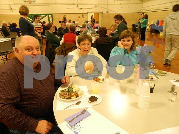 left to right: Larry Coleman, Tarila Nelson, Kelsie Nelson