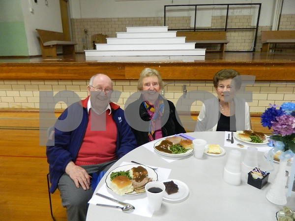 left to right: Tom Lose, Marianne Lose, Eileen Koch