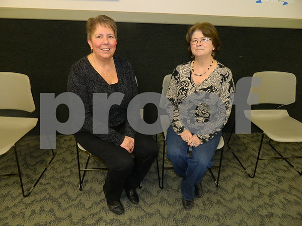 left to right: Renee Kapustka and Kathy Allen