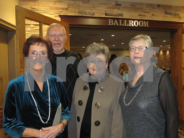 Renee Johnson, Dave Havlik, Linda Poppinga, and Betty Hartquist