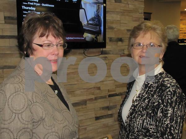 Jane Schultz and Barb Lynn