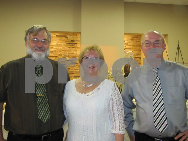 Dave and Becky Kalous with Dan Larson