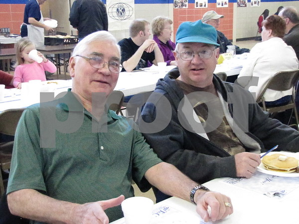 Pete Fritz and Jerry Bossart