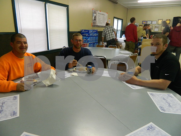 Left to right: Mike Lowrey, Eric Auten,  and Steve Ahuns