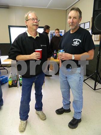 Paul Neeson and Mike Hewitt
