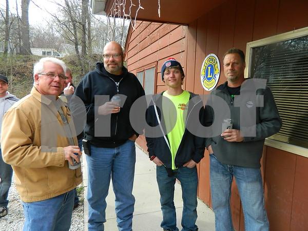 Left to right: Jon Potratz, Dan Moore, Kody Cooper, and Tod Cooper