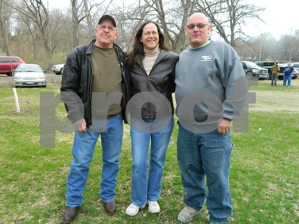 Left ti right: Jim Sankey, Lois Sankey, and Mike Smith