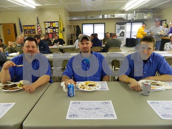 Left to right: Mick Fulwider, Jason Trott, and Jason Slinker
