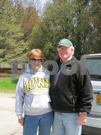 Judy and Steve Rozek were volunteers at the benefit walk for Opportunity Village.