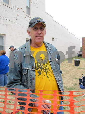 Denny Johnson attended the Eagles 45th Anniversary Celebration.