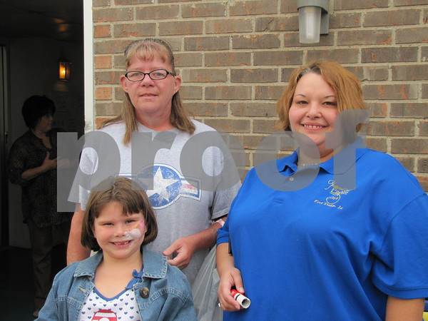Laura and Katelynn Gartin, and Melissa Leners