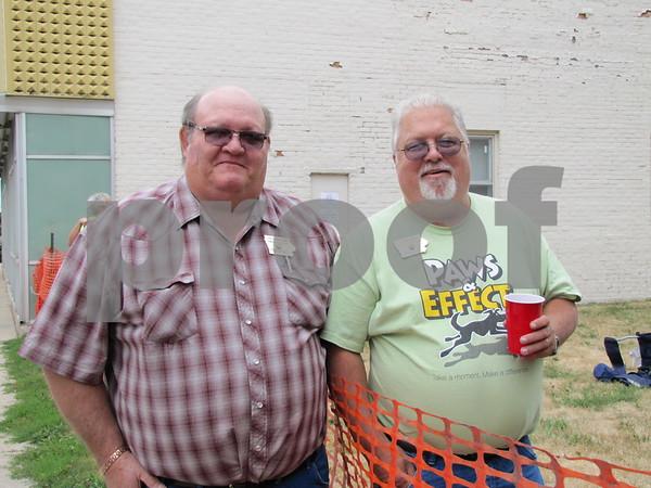 Steve Zimmerman, Eagles trustee, and John Kirpp, State President of Eagles Aerie.