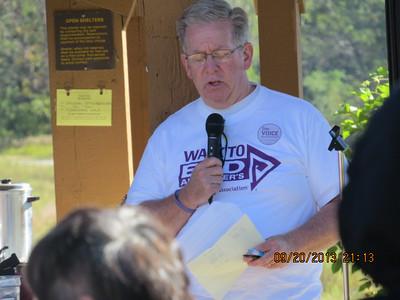 Walk to End Alzheimer's Macon 2013