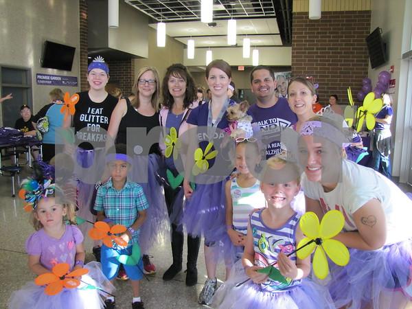 "Team ""Hope Holders"" organized by Megan and Ryan Baldridge"