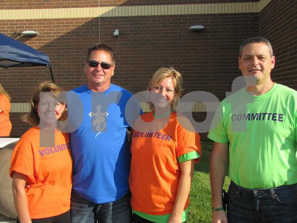 Carrie Kee, Kelly Payne, Brenda Benton, and committee member Stuart Andresen.