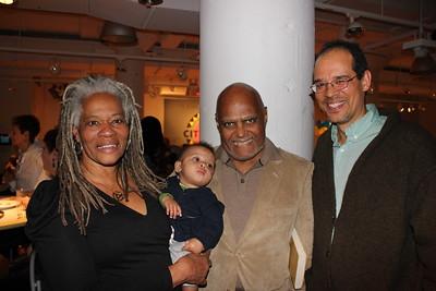 Janet Moses, Johari Moses, Bob Moses, & Ben Moynihan