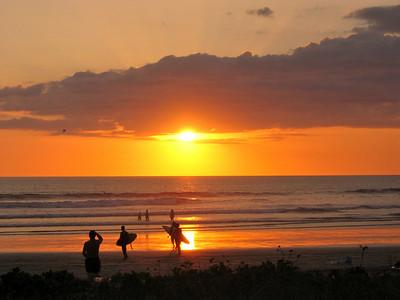 Sunset at Nosara, Costa Rica.