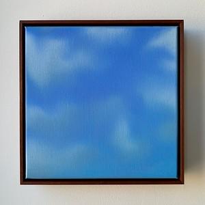 """Opus 60   12"""" x 12""""   oil on canvas   2020   $600 (framed)"""