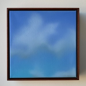 """Opus 61   12"""" x 12""""   oil on canvas   2020   $600 (framed)"""
