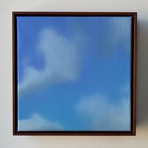 """Opus 59   12"""" x 12""""   oil on canvas   2020   $600 (framed)"""