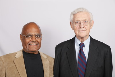 Bob Moses and Former Assistant US Attorney General John Doar.