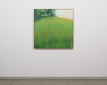 "good morning   39"" x 39""   oil on canvas   2020   $2,300 (framed)"