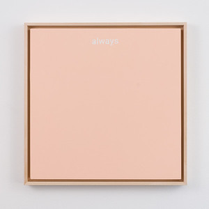 "always | 12"" x 12"" 