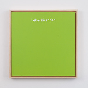 "liebesbisschen | 12"" x 12"" 