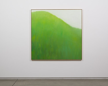 "half way   51"" x 51""   oil on canvas   2020   $3,000 (framed)"