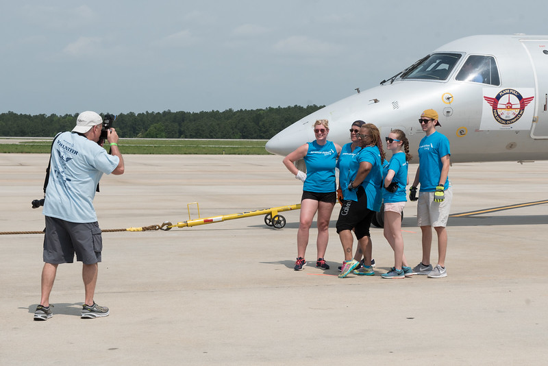 April 29, 2017. 2017 Plane Pull benefitting Special Olympics NC, Raleigh-Durham Airport, NC. Copyright © 2017 Jamie Kellner. All Rights Reserved.