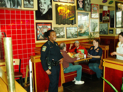 2011 Red Robin Tip-a-Cop Event