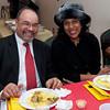 Chris and Sondra - enjoying dinner at the BFP fundraiser.