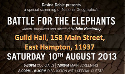 """Battle for the Elephants Event"" - August 2013"