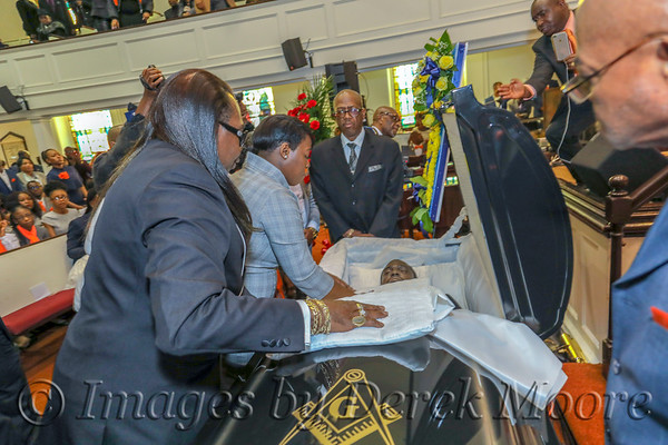Funeral Service for Charles Johnson