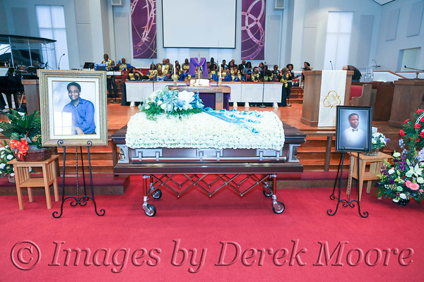 Funeral Service for Charleston Russell