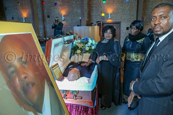 Funeral Service for Fred Archiebald Bernard