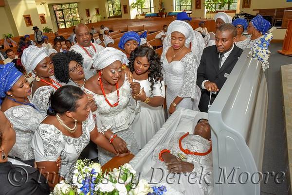 Funeral Service for Gilbert O. Okotie (The Legend of Gardnerville)
