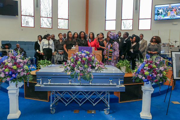 Funeral Service for Hon. Seward Kannah Boons, Sr.