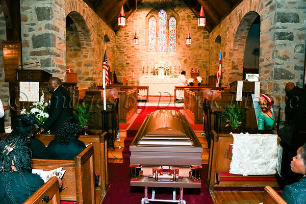 Funeral Service for Miss Ellen Antoinette Melton, II