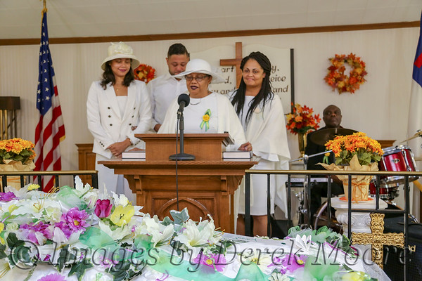 Funeral Service for Mrs. Hannah Dougan Mossberg