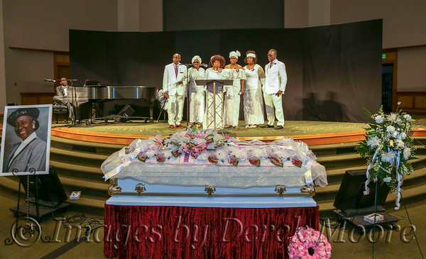 Funeral Service for Mrs. Jestina Summons Gibson