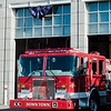 "Fire engines at the Fitchburg Fire Department prepare for the funeral of firefighter Jack Mulcahy on Monday, March 20, 2017. Jack ""Mulky"" Mulcahy, who served 41 years on the department, died Wednesday, March 15, after a 16-month battle with pancreatic cancer. He was 63. SENTINEL & ENTERPRISE / Ashley Green"
