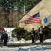 "The funeral procession of Fitchburg Firefighter Jack Mulcahy makes its way to Our Lady of the Lake Church in Leominster on Monday, March 20, 2017. Jack ""Mulky"" Mulcahy, who served 41 years on the department, died Wednesday, March 15, after a 16-month battle with pancreatic cancer. He was 63. SENTINEL & ENTERPRISE / Ashley Green"