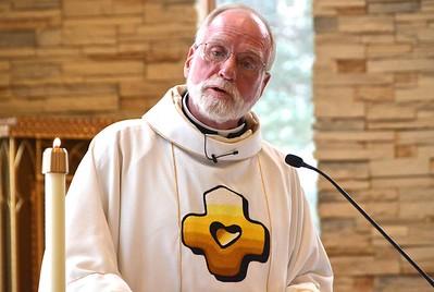 Fr. Ed Kilianski, provincial superior, delivered the homily and eulogy