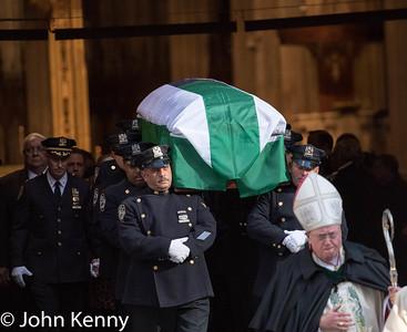 Funeral of Detective Steven McDonald 1-13-17