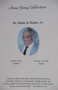 My daddy Buddy R . Hadley